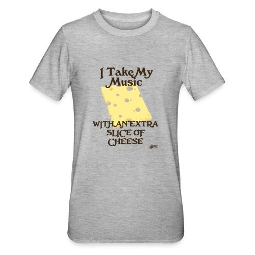 Cheese - Unisex Polycotton T-Shirt