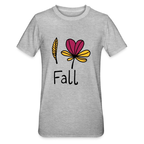 Fall in love - Unisex Polycotton T-Shirt