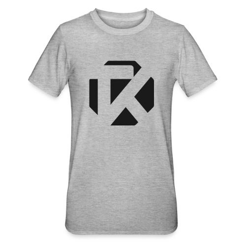 Logo TK Noir - T-shirt polycoton Unisexe