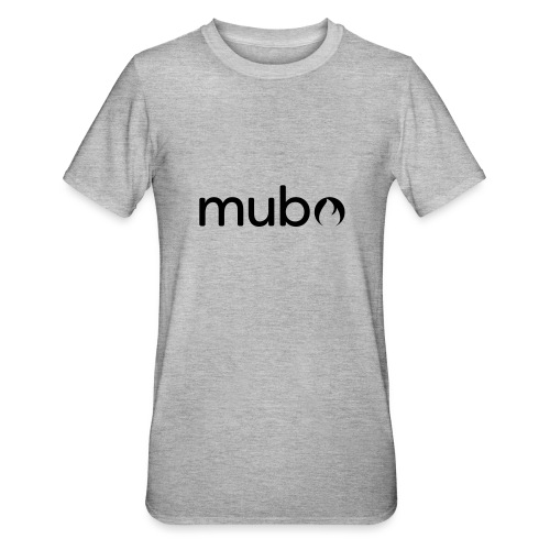 mubo Logo Word Black - Unisex Polycotton T-Shirt