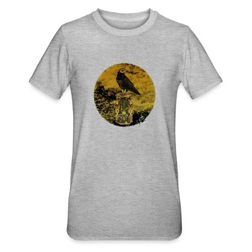 'Memento Mori', round w. logo by BlackenedMoonArts - Unisex polycotton T-shirt