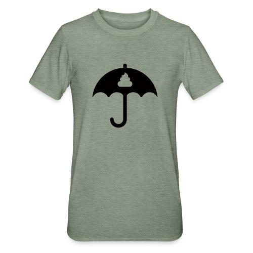 Shit icon Black png - Unisex Polycotton T-Shirt