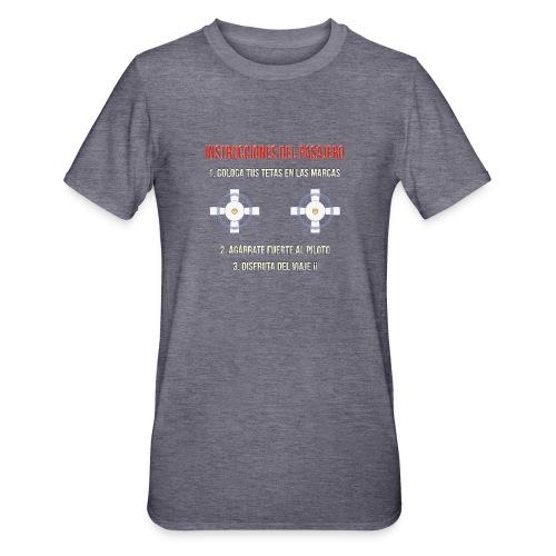 Instrucciones Pasajero - Camiseta en polialgodón unisex