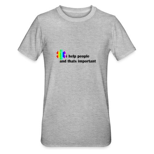 i help people - Unisex Polycotton T-shirt