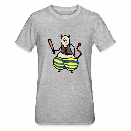 Devil No Touchies Charlie - Unisex Polycotton T-Shirt