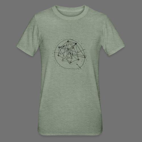 SEO strategia No.1 (musta) - Unisex polypuuvilla-t-paita