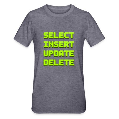 SQL pixelart black - Unisex Polycotton T-Shirt