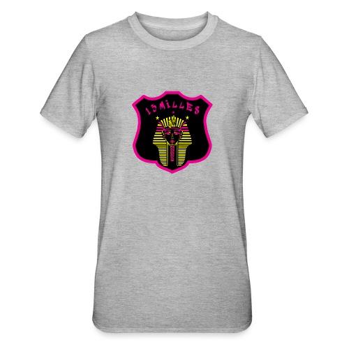 Pharaon Noir, Rose, Jaune hyper design - T-shirt polycoton Unisexe