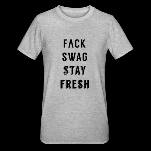Fack Swag Tee - Camiseta en polialgodón unisex