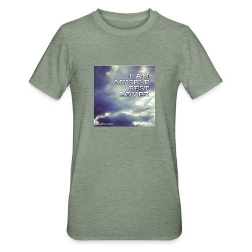 I Am Myself best Lover - Unisex polypuuvilla-t-paita