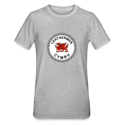 LeatherMen Cymru Logo - Unisex Polycotton T-Shirt