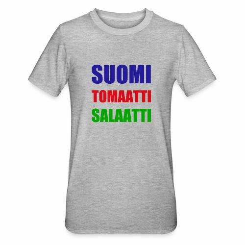SUOMI SALAATTI tomater - Unisex Polycotton T-skjorte