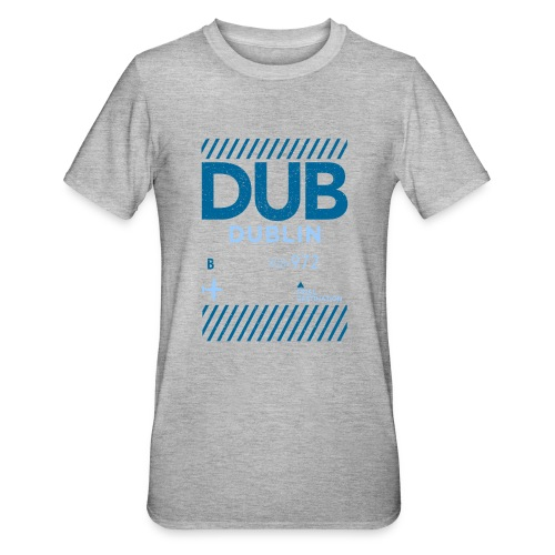 Dublin Ireland Travel - Unisex Polycotton T-Shirt