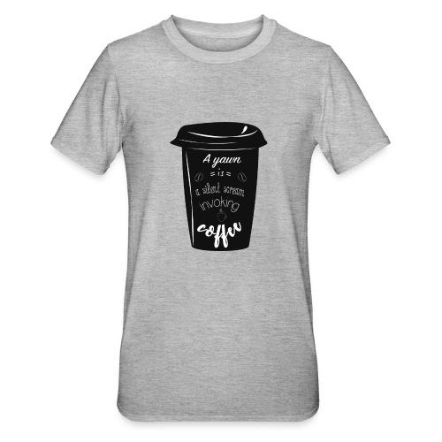 Coffee - Maglietta unisex, mix cotone e poliestere