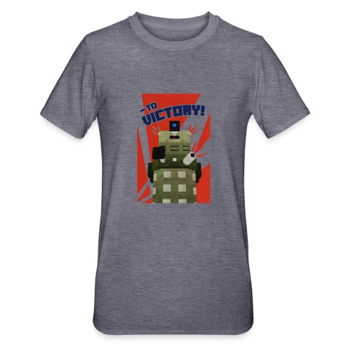 Dalek Mod - To Victory - Unisex Polycotton T-Shirt
