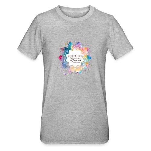 Citation de Nelson Mandela - T-shirt polycoton Unisexe