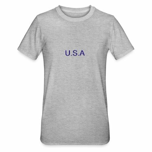 USA LOGO - T-shirt polycoton Unisexe