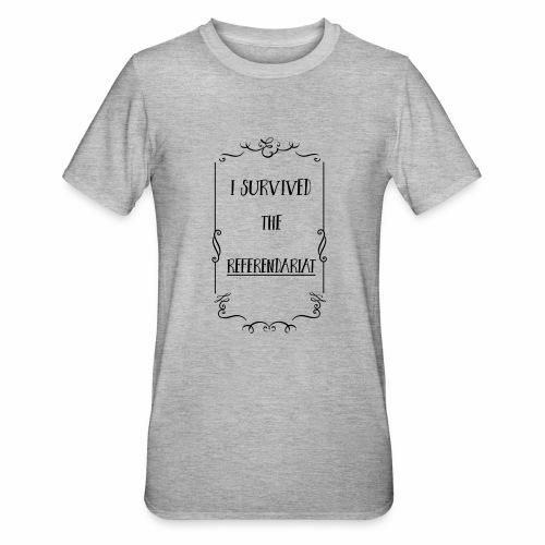 I survived the Referendariat - Unisex Polycotton T-Shirt