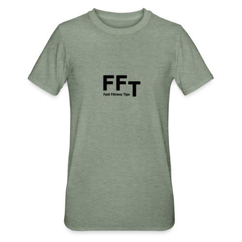 FFT simple logo letters - Unisex Polycotton T-Shirt