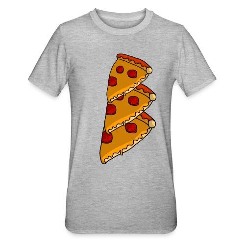 pizza - Unisex polycotton T-shirt