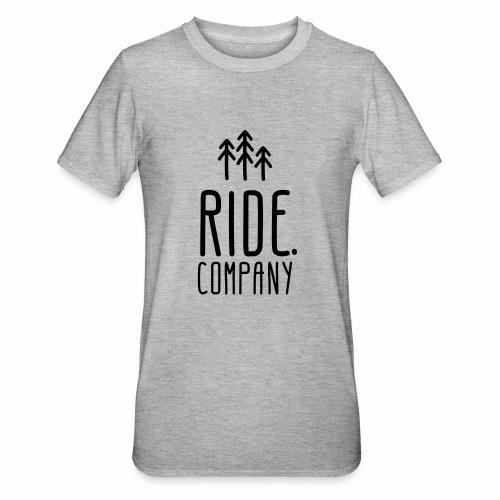 RIDE.company Logo - Unisex Polycotton T-Shirt