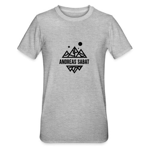 sabat logo black - Unisex polycotton T-shirt