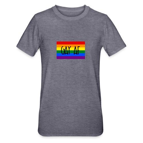 gay af - Unisex Polycotton T-Shirt