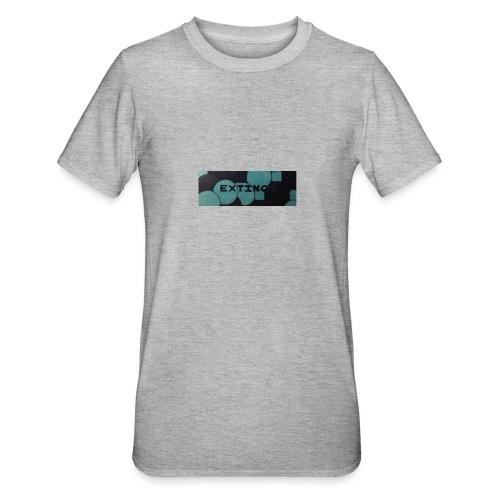 Extinct box logo - Unisex Polycotton T-Shirt