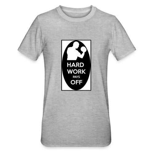 hard work pays off 2 cup.jpg - Unisex Polycotton T-Shirt