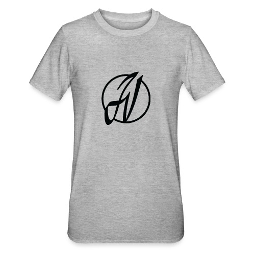 JV Guitars - logo noir - T-shirt polycoton Unisexe