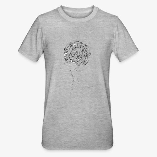 grafica t shirt nuova - Maglietta unisex, mix cotone e poliestere