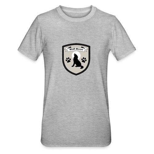 Wolf Moon Crest - Unisex Polycotton T-Shirt