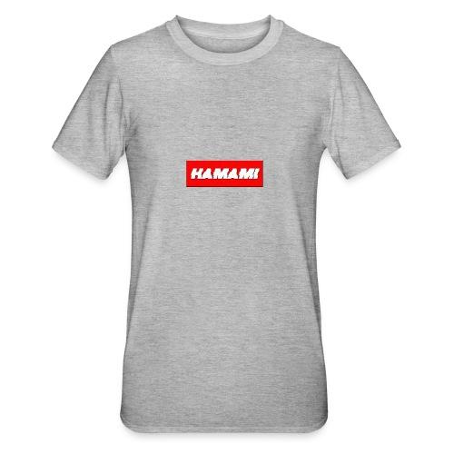 HAMAMI - Maglietta unisex, mix cotone e poliestere