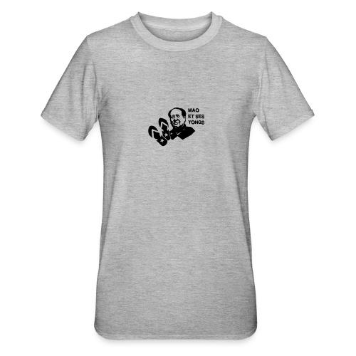 MAO et ses tongs - T-shirt polycoton Unisexe