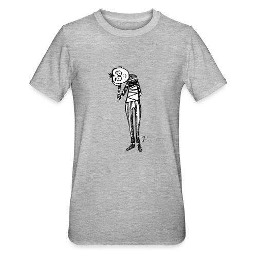 Punto di vista in bianco e nero - Maglietta unisex, mix cotone e poliestere