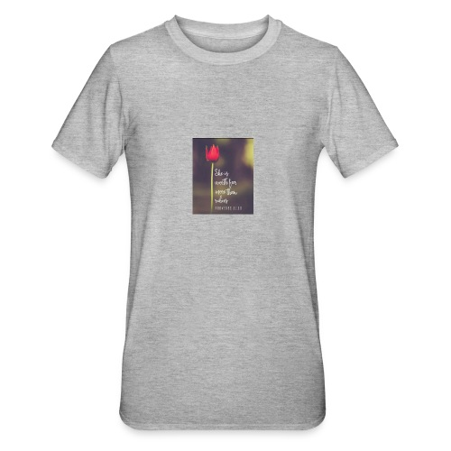 IMG 20180308 WA0027 - Unisex Polycotton T-Shirt