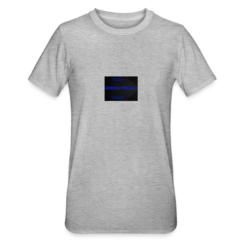 jerkku - Unisex polypuuvilla-t-paita