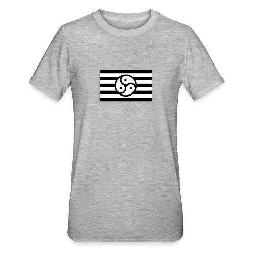 Frauen/Herrinnen T-Shirt BDSM Flagge SW - Unisex Polycotton T-Shirt