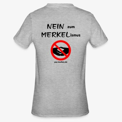 NEIN zum MERKELismus - Unisex Polycotton T-Shirt