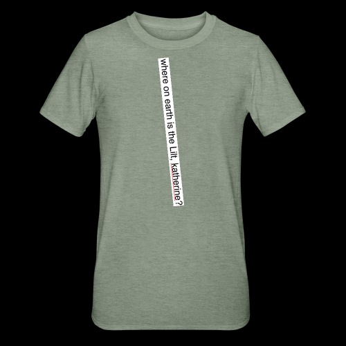 katherine has the LILT AS USUAL - Unisex Polycotton T-Shirt
