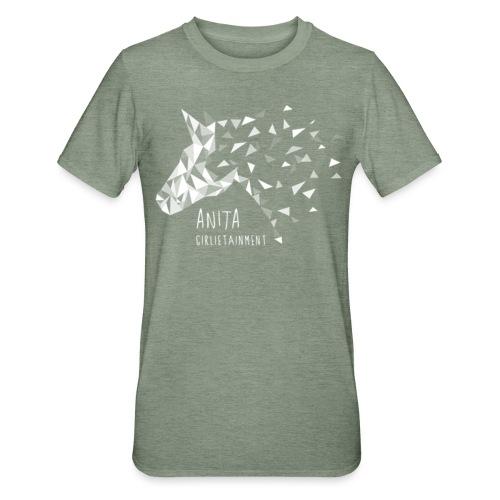 Anita Girlietainment Weiß - Unisex Polycotton T-Shirt