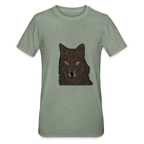 HikingMantis Wolf png - Unisex polycotton T-shirt
