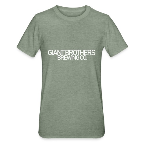 Giant Brothers Brewing co white - Polycotton-T-shirt unisex