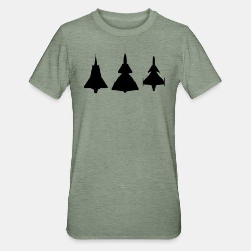 Draken / Viggen / Gripen / jet fighter - Unisex Polycotton T-Shirt