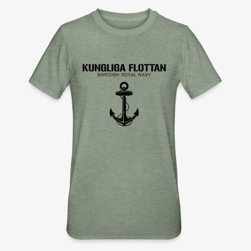 Kungliga Flottan - Swedish Royal Navy - ankare - Polycotton-T-shirt unisex
