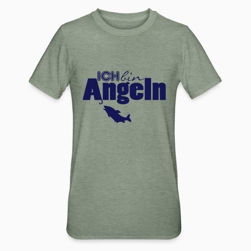 Ich bin Angeln - Unisex Polycotton T-Shirt