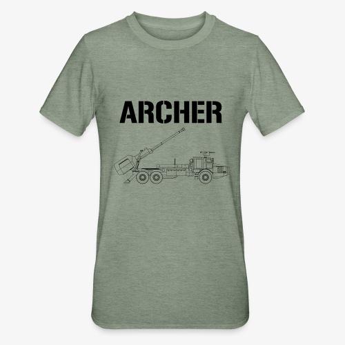 Artillerisystem ARCHER - Polycotton-T-shirt unisex
