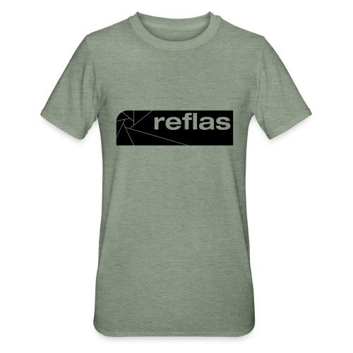 Reflas Clothing Black/Gray - Maglietta unisex, mix cotone e poliestere