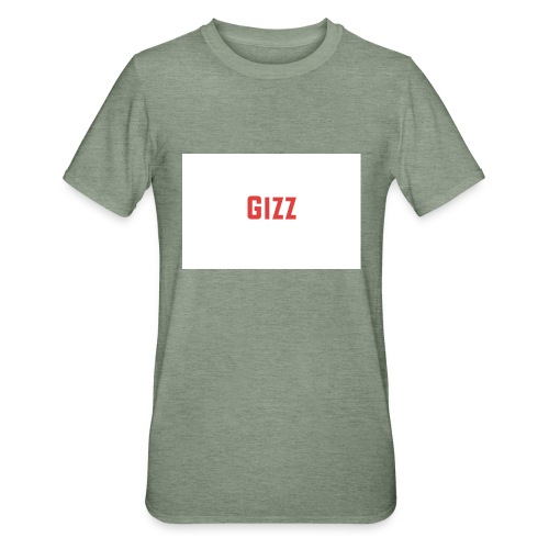 Gizz rood - Unisex Polycotton T-shirt