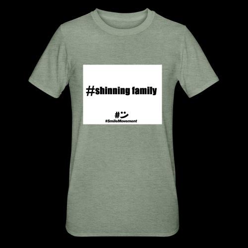 shinning family - T-shirt polycoton Unisexe
